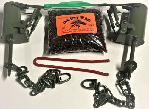2 FPS DP Dog Proof raccoon kit , 1 DP setter & 1 Coon Gitter Bait trap NEW SALE