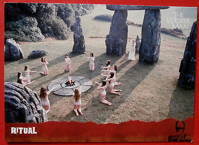 THE WICKER MAN Card # 16 - Ritual - Unstoppable Cards 2014
