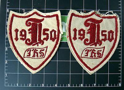 1950 Letterman Jacket patch vintage High school wool 50s football baseball track - Wholesale Letterman Jackets