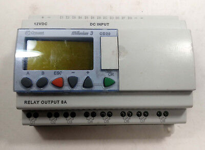 1 Used Crouzet 88970055 Millenium 3 Cd20 Controller 12vdc Make Offer