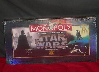 - Monopoly Star Wars Classic Trilogy edition Board Game 1997 Parker Brothers
