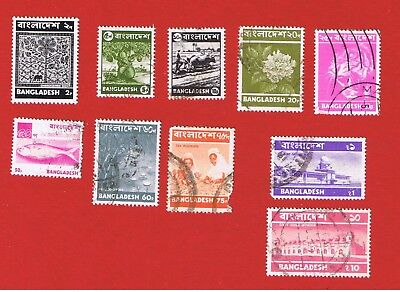 Bangladesh #42//55  VF used  Designs  Free S/H