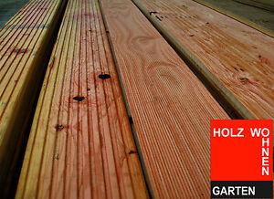 Douglasie, Terrassenholz, alt. Bangkirai, Kiefer, oder Lärche, Holz, C-Ware