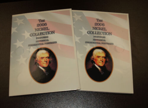 Two Sets of The 2006 Nickel Collection Presidential Portraits  - Morgan Mint