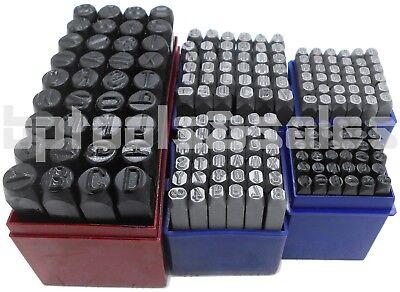 180pc 14 316 532 18 38 Letter Number Stamping Set Hardened Steel