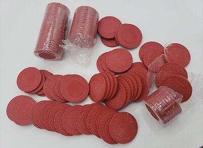 Trademark Poker Super Diamond Clay Composite Chips Set Of 100 8 Grams 39 MM Red - Diamond Clay Composite Poker Chips