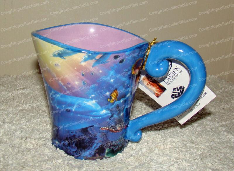 Dolphin Ocean Dance Mug (Lassen Collection, Westland, 23206) 11 oz.