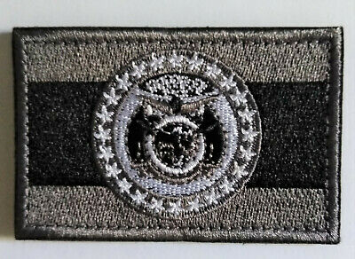 Missouri State Flag Subdued Tactical Patch (Police Sheriff) / FREE US SHIPPING!