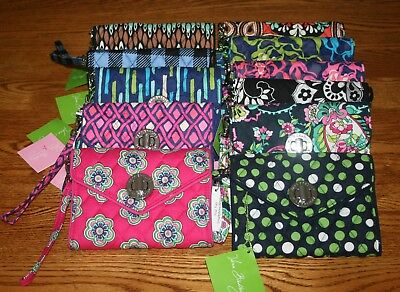 Vera Bradley Your Turn Smartphone Wristlet Turnlock Iphon...