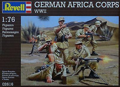 REVELL® 02616 WWII German Afrika Korps Figuren in 1:76