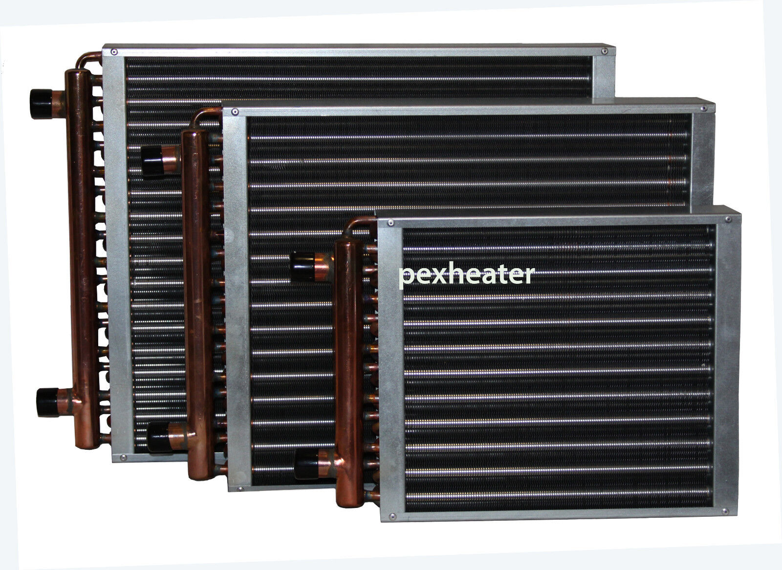 finned coil water to air heat exchanger