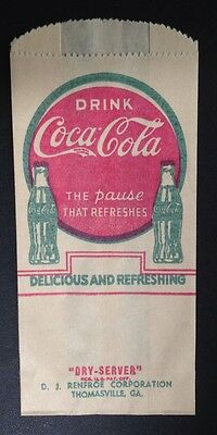 Coca-Cola Coke 1929 Dry Server HTF Bottle Protector Variant 1