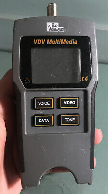 Ideal Vdv Multimedia Cable Tester In Working Condition