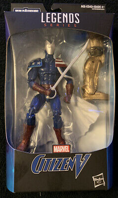 "Marvel Legends Citizen V 6"" Action Figure Endgame with BAF Thanos  NEW"