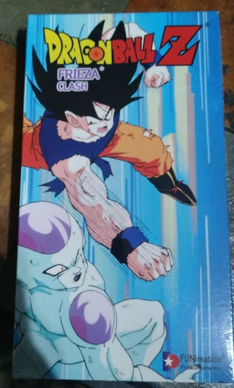 Dragon Ball Z - Frieza: Clash (VHS, 1999) Factory Sealed New.