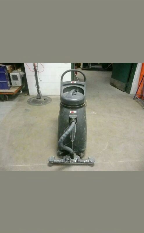 "Commercial Wet/Dry Vacuum and commercial 20"" Burnisher walk behind - lot of 2"