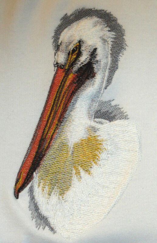 Embroidered Sweatshirt - Pelican BT2876