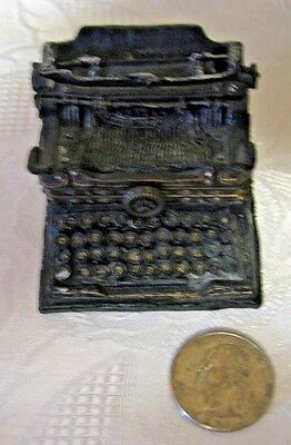 BOYDS BEARS UNCLE BEAN'S TREASURE BOXES WILSON'S TYPEWRITER 1 EDITION MINIATURE