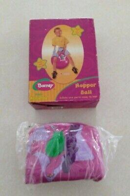 Ride On Bouncy Ball (Barney Hopper Ball Bouncy Ride On Ball PURPLE DINOSAUR KELLYTOY LYONS NEW IN)