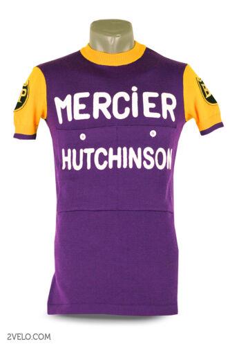 MERCIER Hutchinson vintage wool jersey, new, never worn XL