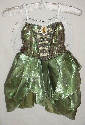 EUC Disney Store Girls ZARINA PIRATE Tinkerbell Fairy Halloween Costume Size 3