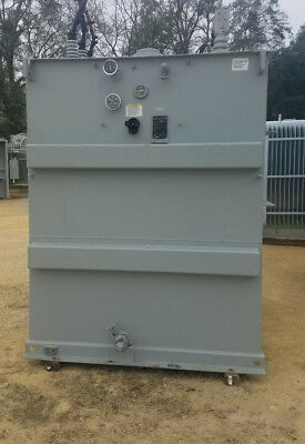 3000 Kva Siemens Substation Transformer 12470 Delta Primary 2300y1328 Secondary