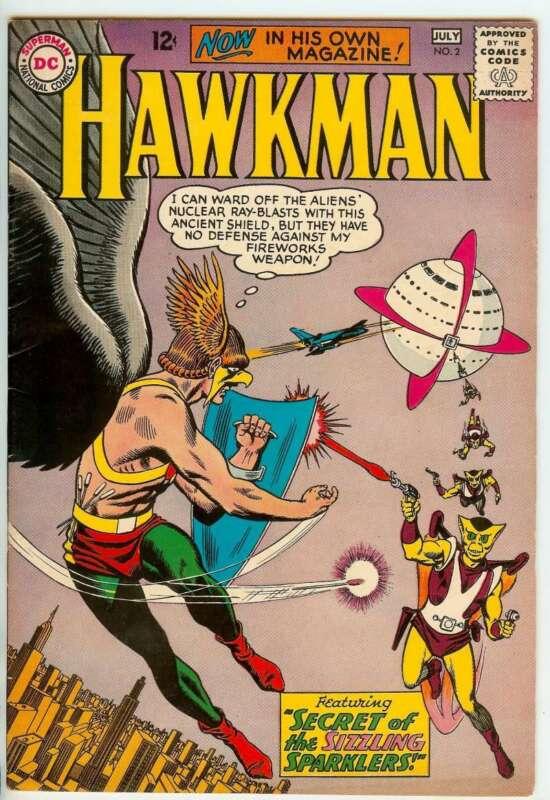 HAWKMAN #2 7.5