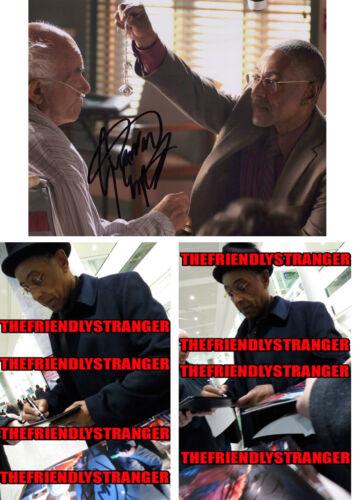 "GIANCARLO ESPOSITO signed Autographed ""BREAKING BAD"" 8X10 PHOTO c PROOF Gus COA"