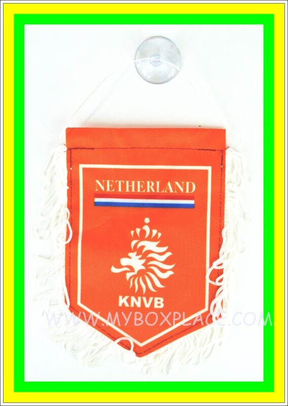 Netherland Country Flag With Suction For Car Home Office Work Party Windows