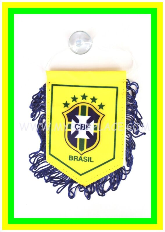 Brasil Country Flag With Suction For Car Home Office Work Party Windows