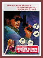 Bring Me The Head Of Alfredo Garcia Cult Movie Posters Classic Vintage Cinema -  - ebay.co.uk