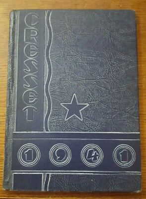 1941 Chillicothe High School Yearbook  Chillicothe  Missouri The Cresset
