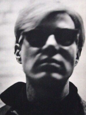 """ANDY WARHOL vintage mounted repro photo, XXe Siècle 1973 12 x 10"""" X41083"""