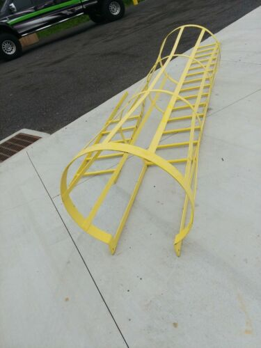 Caged Security Ladder 20ft total NEW