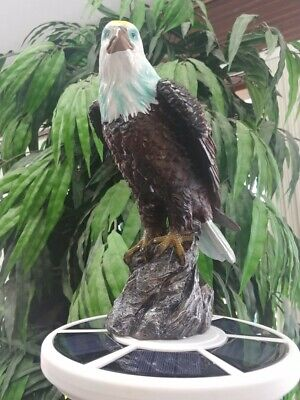 Flagpole Large Eagle Display Topper Finial Ball Hand Painted USA Realistic -