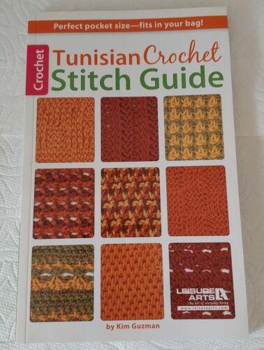 Tunisian Crochet Stitch Guide Book