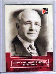 COLONEL-ROBERT-SAMUEL-McLAUGHLIN-10-11-ITG-Canadiana-Red-Ruby-Card-13-Motor-Car