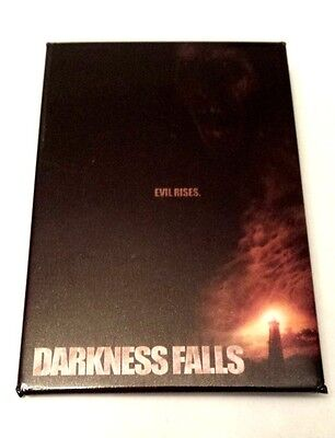RARE 2003 DARKNESS FALLS Motion picture PROMO BUTTON - CHANEY KLEY PIN EVIL RISES