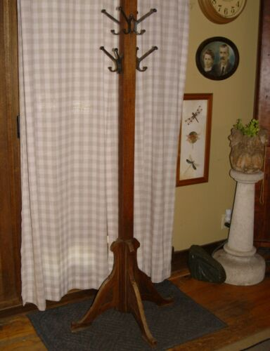 Lifetime Furniture Co Mission, Craftsman, Arts & Craft Antique Coat Rack / Hall