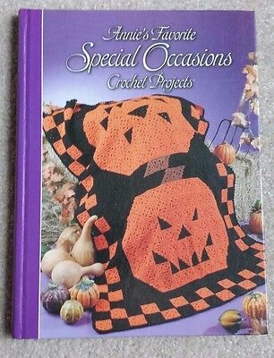 Annie's Attic Favorite SPECIAL OCCASIONS CROCHET BOOK Afghans Toys Fashion Doll