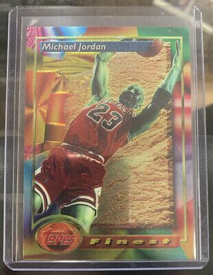 1994 Topps Finest Michael Jordan #1 Chicago Bulls