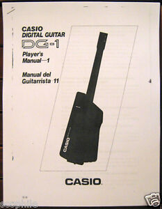 Casio Dg 20 Owners Manual