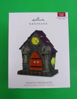 Ghostly Mausoleum - 2018 Hallmark Halloween Keepsake Ornament NEW IN BOX - - Halloween Mausoleum