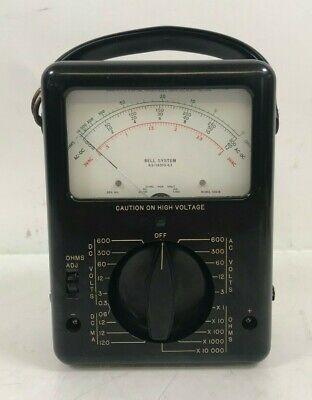 Rare Triplett Bell System Model Ks-14510-l1 Tester Meter Ohms Volts.