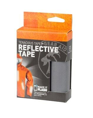 Gear Aid Reflective Tenacious Tape! Apparel Running Jogging Bright Glare Tape