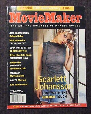 2004 Movie Maker Magazine  53 Fvf 7 0 Scarlett Johansson Cover