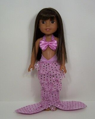 Halloween Mermaid Outfit Doll Clothes For AG 14