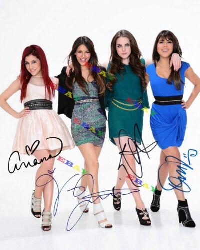 VICTORIOUS cast Autographed Signed 8x10 Photo Reprint