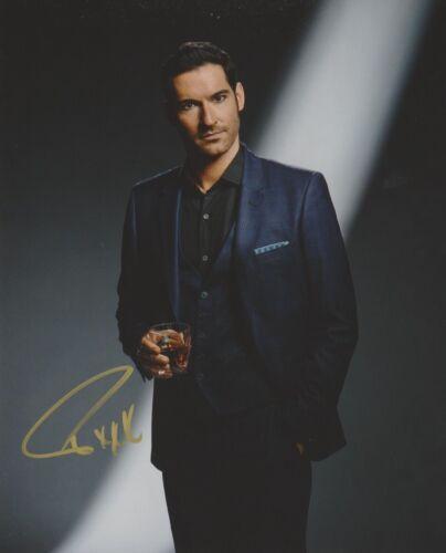 Tom Ellis Lucifer Autographed Signed 8x10 Photo COA 2019-9