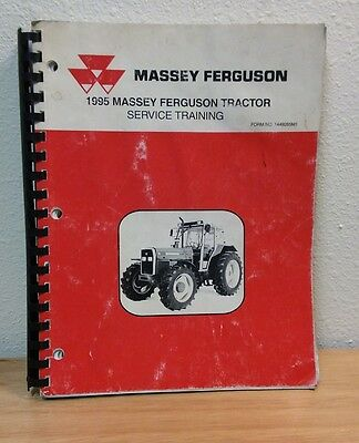 Full Size 1995 Massey Ferguson Mf Farm Tractor Service Training Manual Book